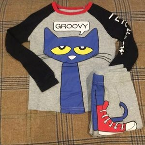 Pete the Cat pj set